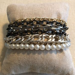 Jewelry - Mixed metals layered bracelet